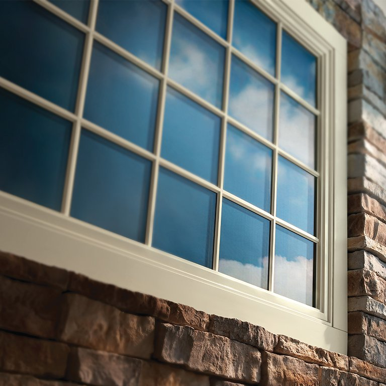 Andersen White Vinyl Window - Central MA - Solid State Construction