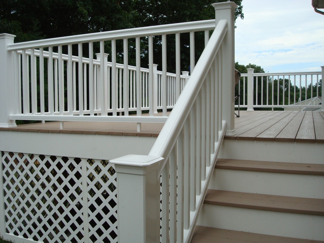 Central MA Deck Installation - TimberTech AZEK Composite - Design & Build By Solid State Construction