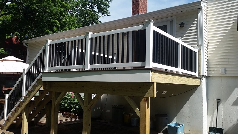 Deck Post - Solid State Construction - Central MA