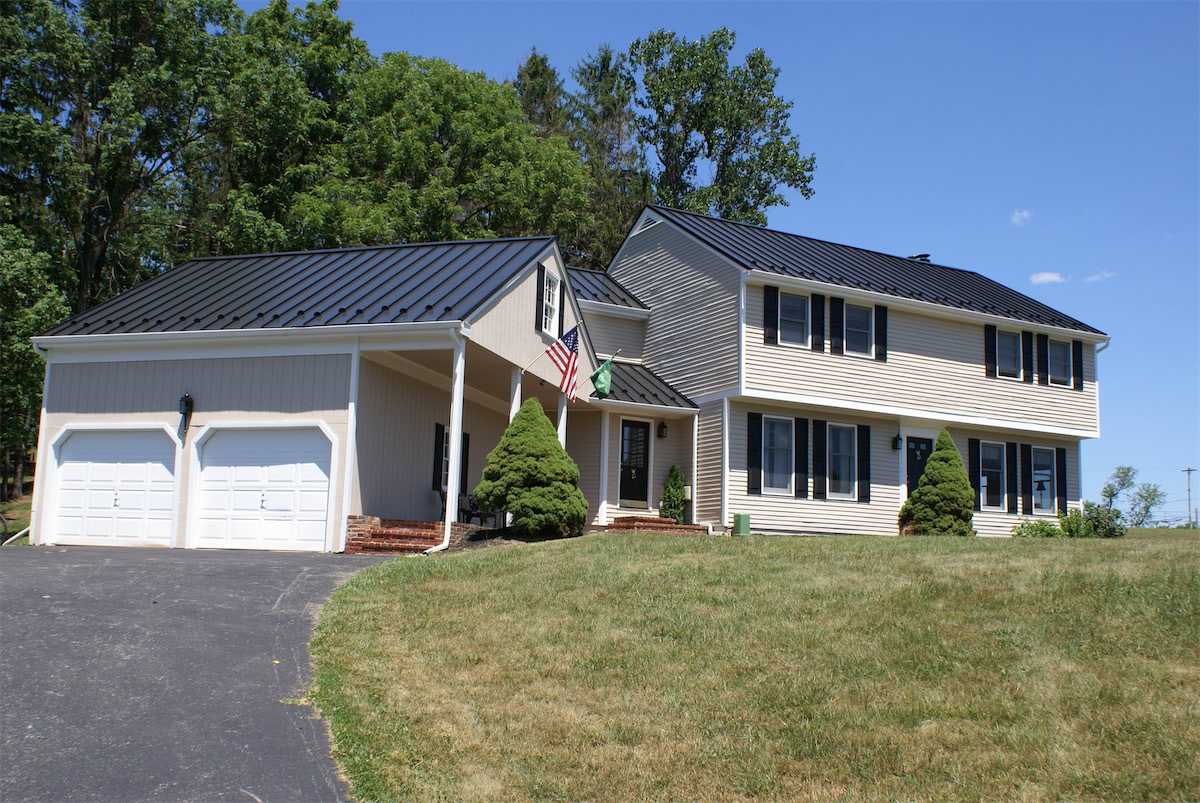 Drexel Metal Roofing - Charcoal Gray - Solid State Construction Central MA