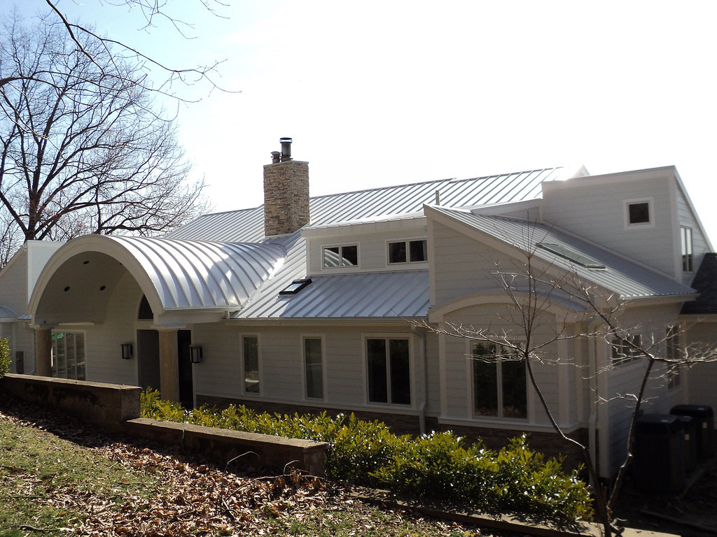 Drexel Metal Roofing - White - Solid State Construction Central MA