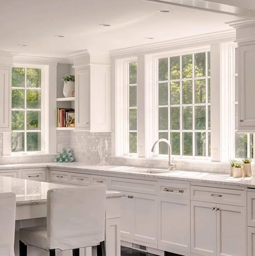 Marvin Window - Elevate Collection White - Central MA - Solid State Construction