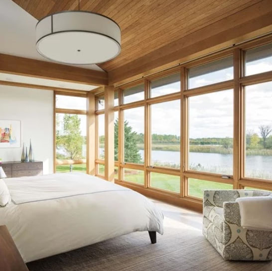 Marvin Window - Wood Interior - Central MA - Solid State Construction