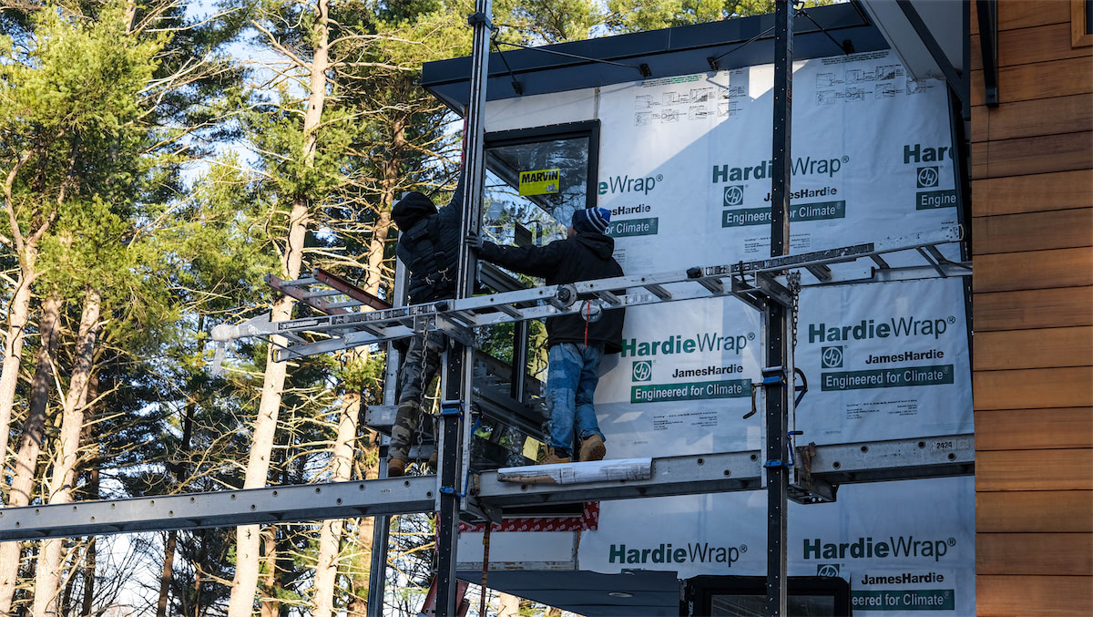 Solid State Construction James Hardie Fiber Cement Siding Installers - Siding Installation Central MA