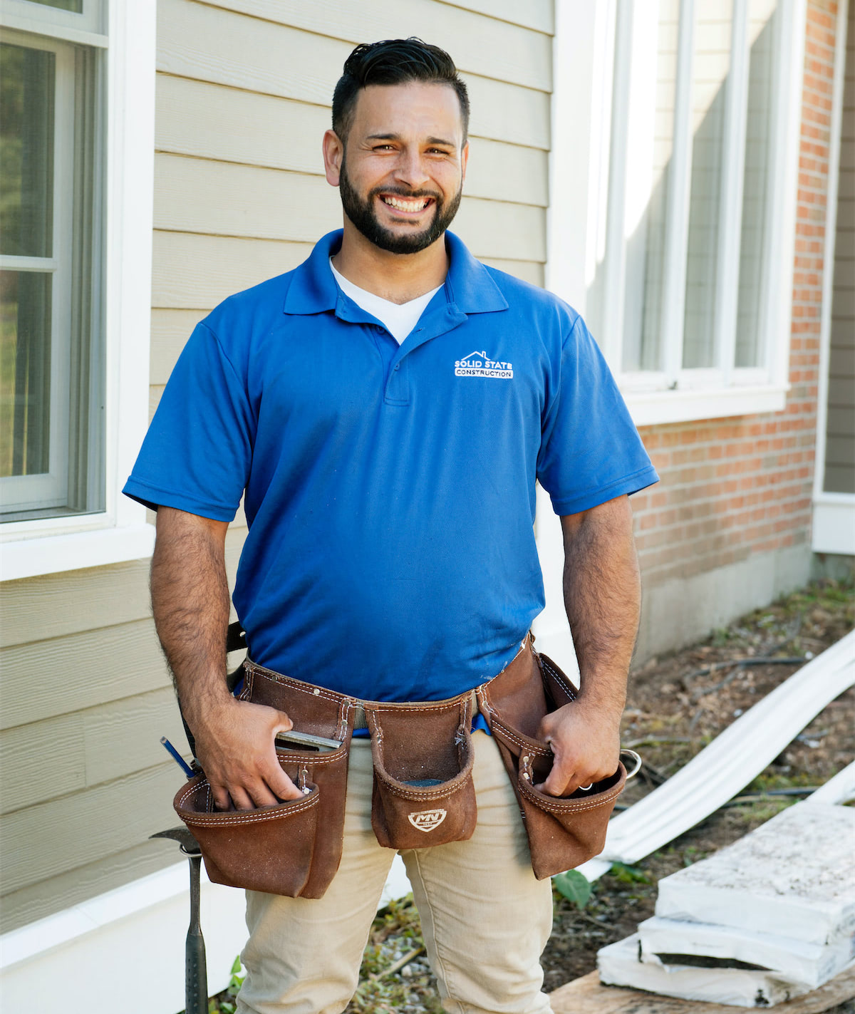 Solid State Construction Of Central MA - Siding Installer - Will