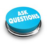 Large Ask Questions Button