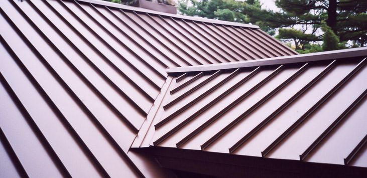 Drexel Metal Roofing - Rustic Stone - Solid State Construction Central MA