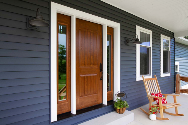 ProVia Fiberglass Front Door - Central MA - Solid State Construction